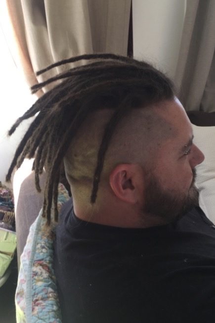Dreadlock Mohawk
