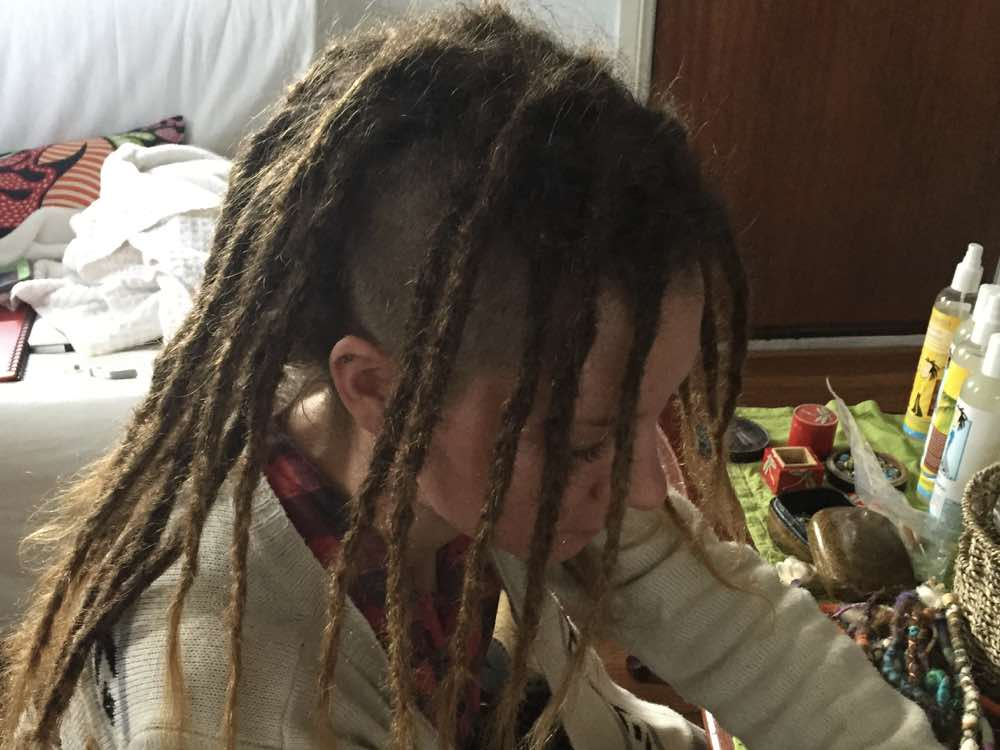 Dreadlocks with Shaved Sides