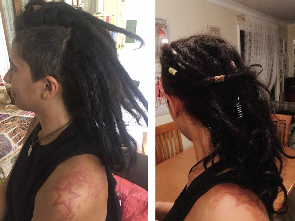 Dreads with Undercut female