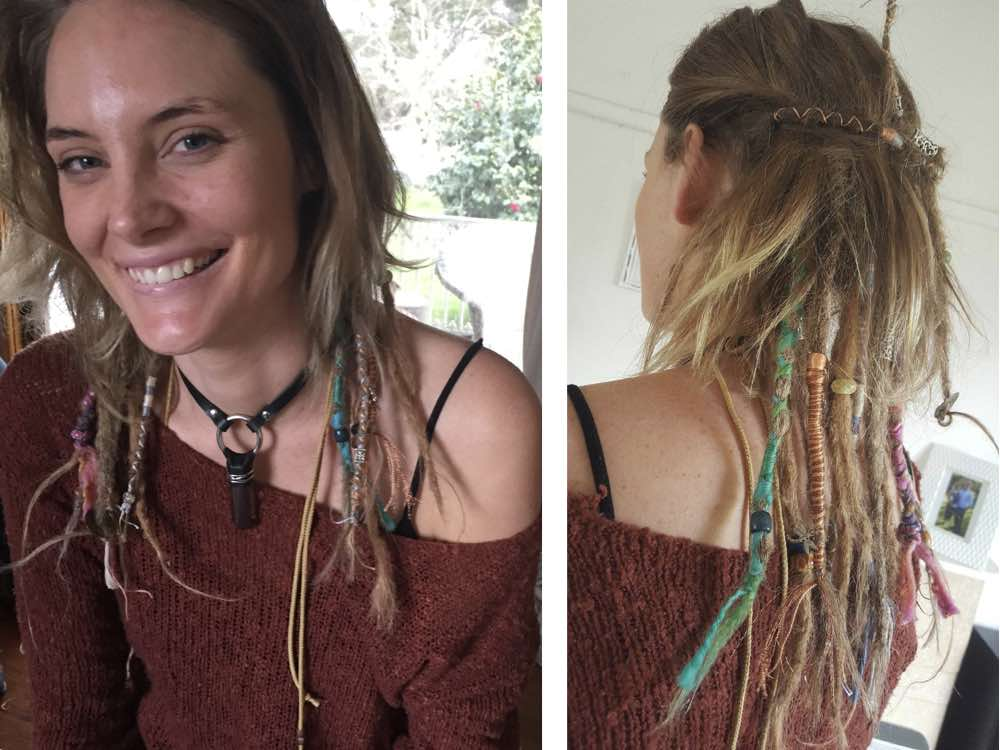 Underdreads allow you to change up the style you sport, either accentuating them by tying up your undreaded hair or covering your partial dreadlocks when wanting to look more formal.