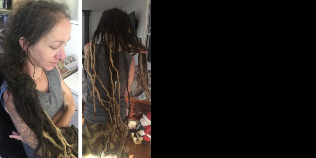 how to reattach dreadlocks