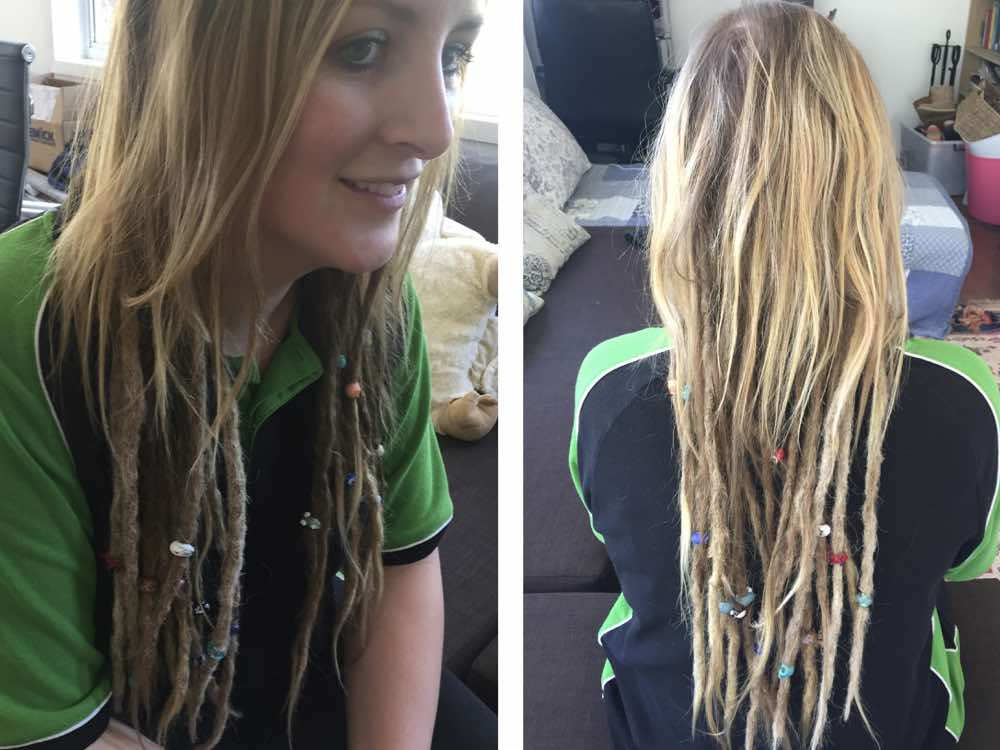 Having partial dreads underneath, or underdreads, are often a good taster for people who are not sure if they want to have their whole hair dreaded.
