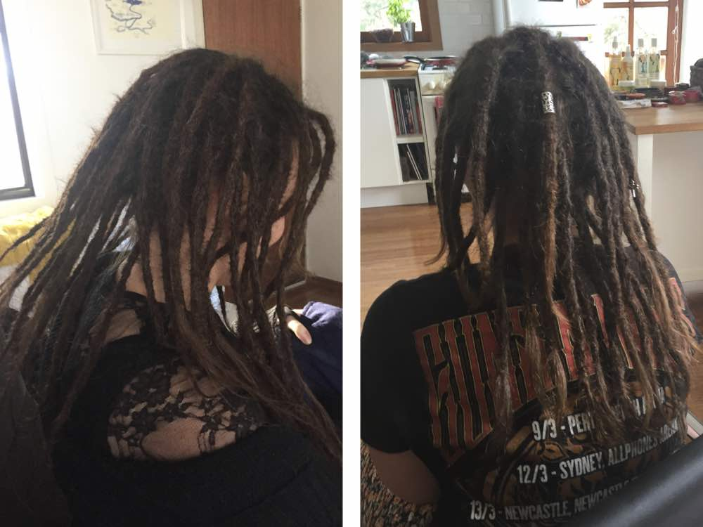 The results you should expect when going to a professional dreads salon.